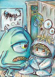 Scary Beast by Akai-lein