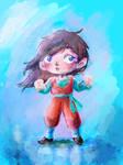 Kame hame sketch! by Akai-lein