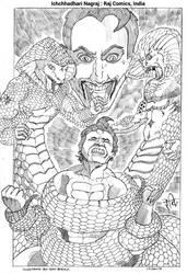 Nagraj : Raj Comics, India by ravibirulyw20