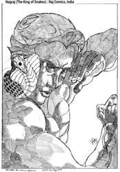 Nagraj, The King of Snakes : Raj Comics, India by ravibirulyw20