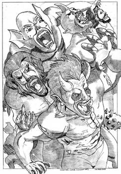 Monster Come  (Concept Art)