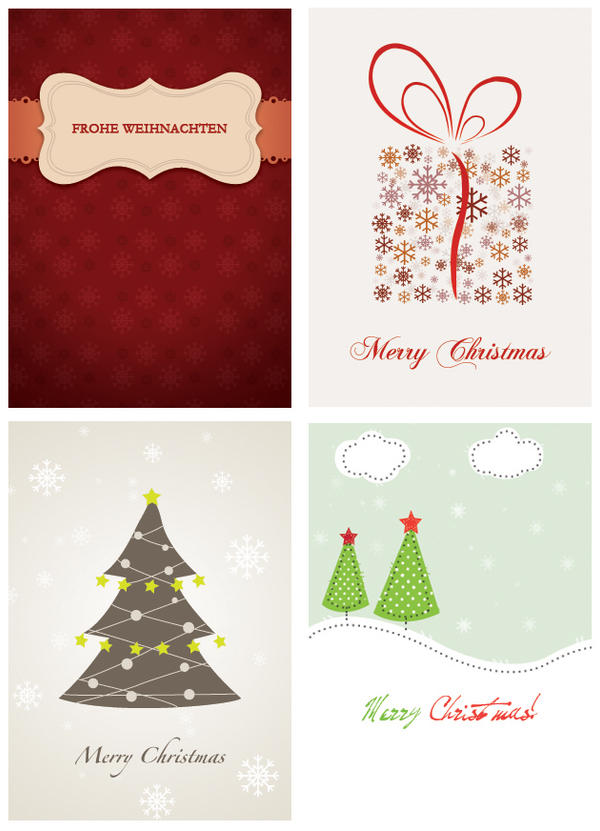 Christmas cards by rei4