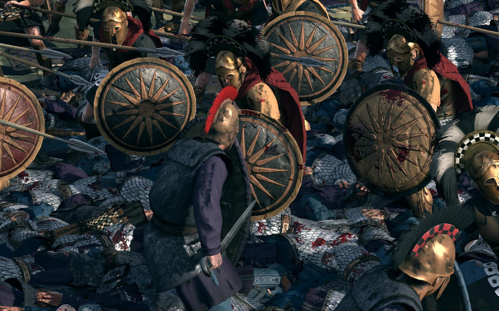 Total War: Rome 2 - Persian filth by Freelancerrook