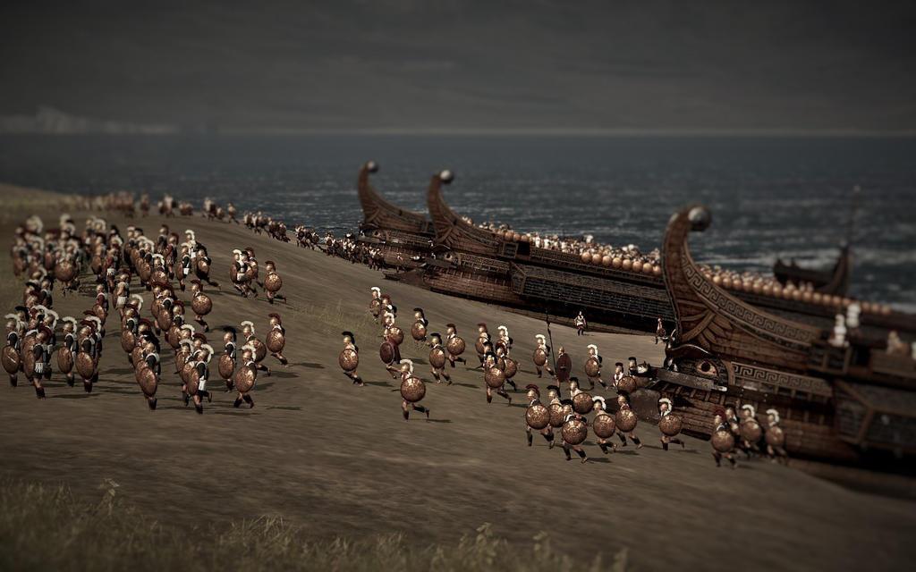 Total War: Rome 2 Macedonian Landing Party by Freelancerrook