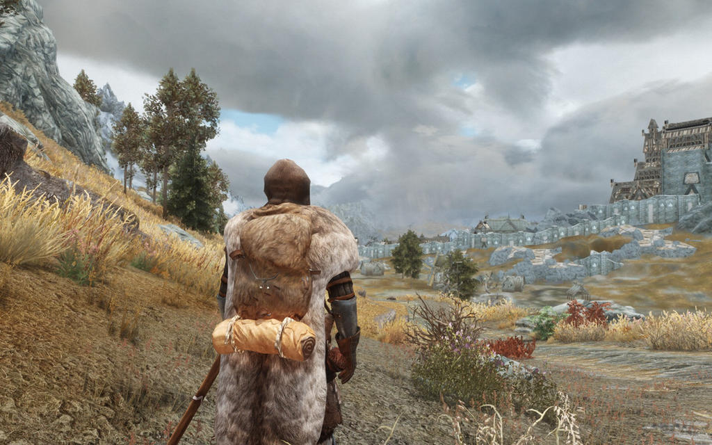 Skyrim: Dark Clouds Ahead by Freelancerrook
