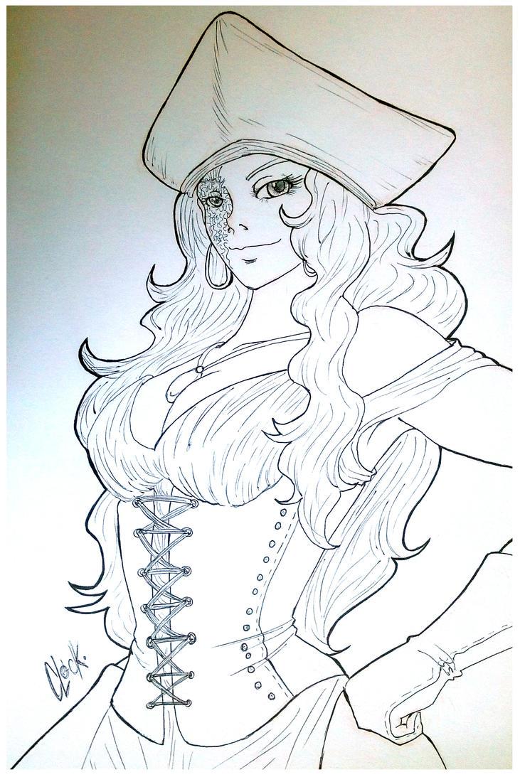 Pirate Carmen Rodriguez 2.0 by SickMelody