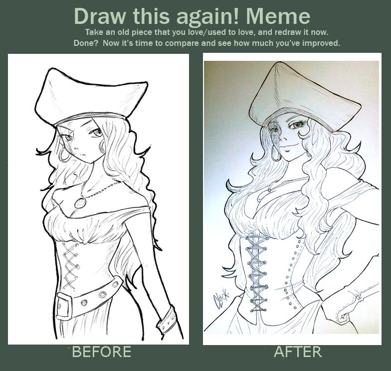 Carmen: Draw this again meme by SickMelody
