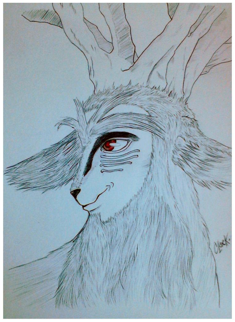 Forest Spirit Shishigami by SickMelody