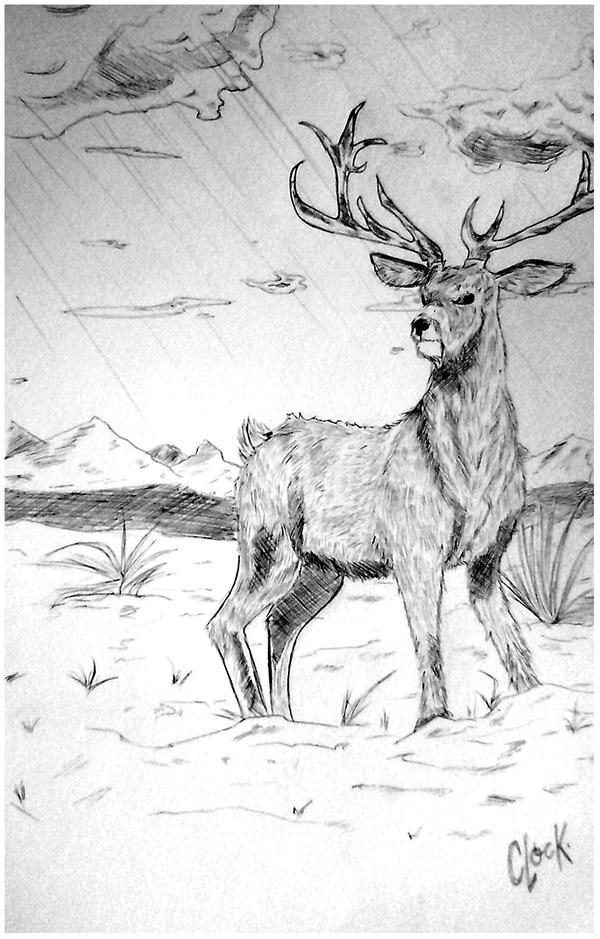 Deer by SickMelody