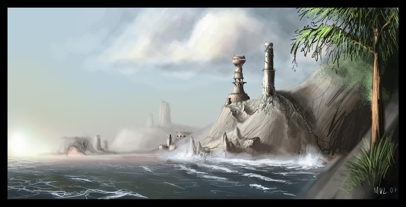 Cove II by highdarktemplar