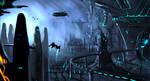 Protoss city