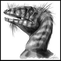 Deinonychus antirrhopus by highdarktemplar