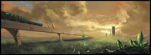 cityscape 3 - Tiberium fields