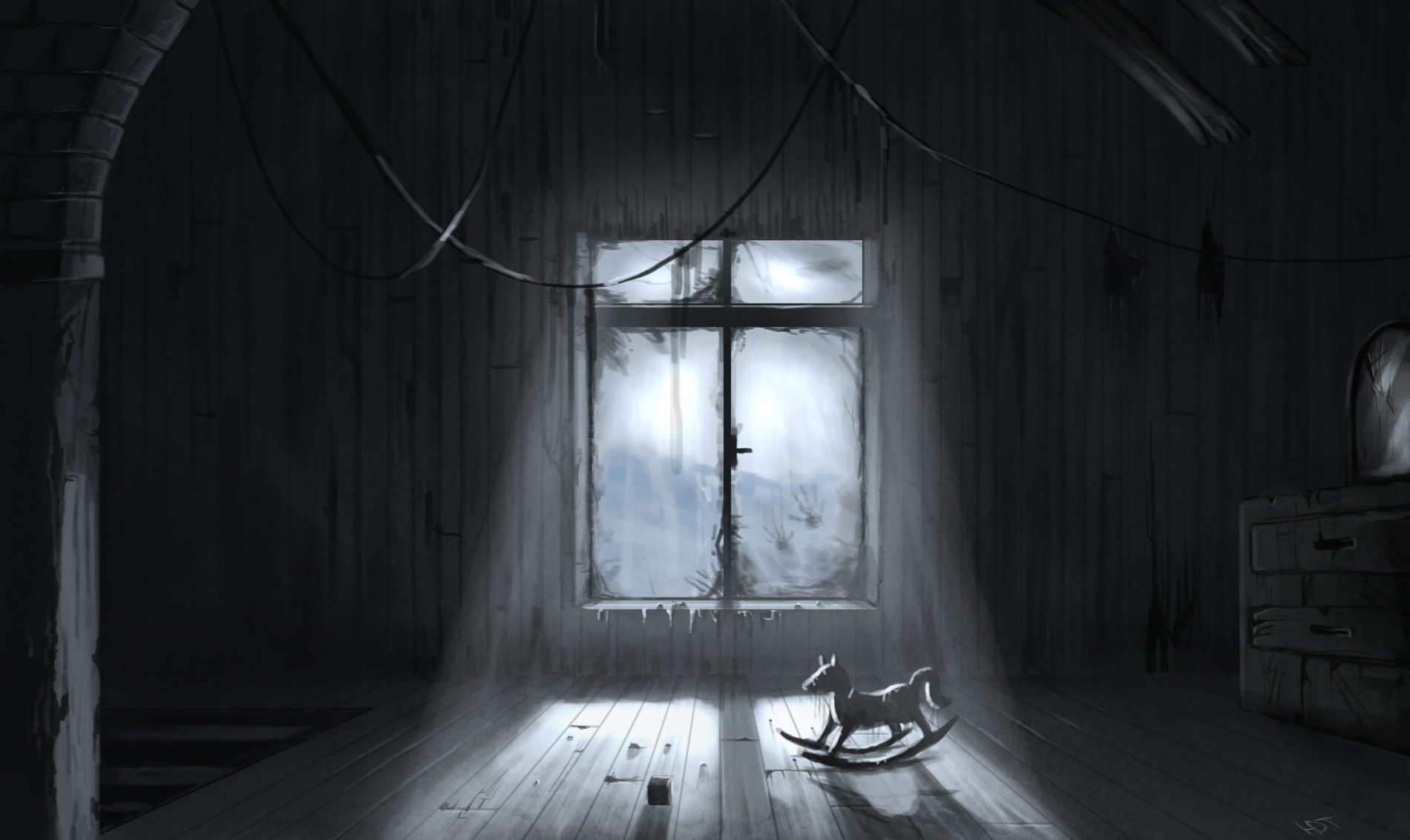My Haunted House Room