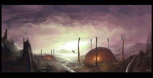 Cityscape 12 - Invid Hive