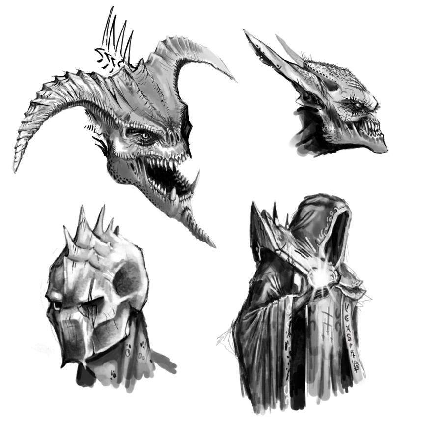 Hexen sketch dump by highdarktemplar