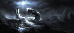 Alien Derelict ship