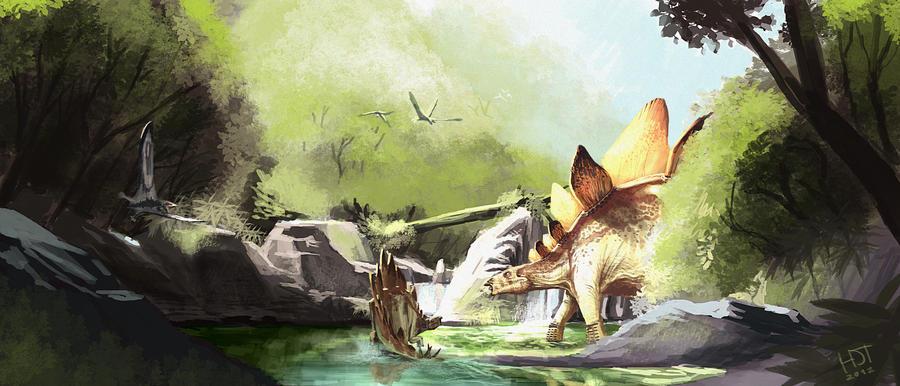 stegosaurus zeitraum wann er gelebt hat