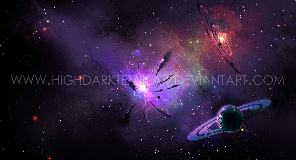 Nebula III by highdarktemplar