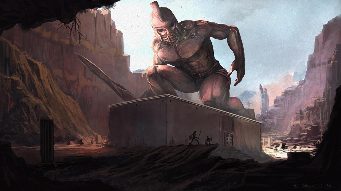 Talos Awakens by highdarktemplar