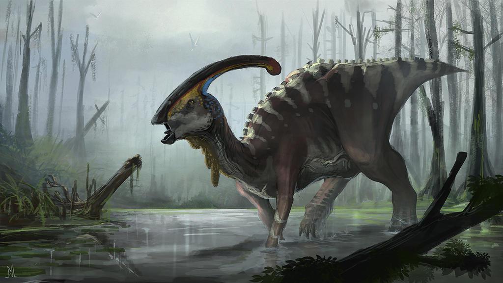 Parasaurolophus walkeri by highdarktemplar