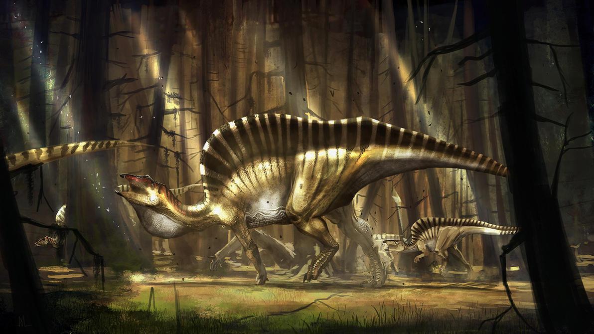 Ouranosaurus nigeriensis by highdarktemplar