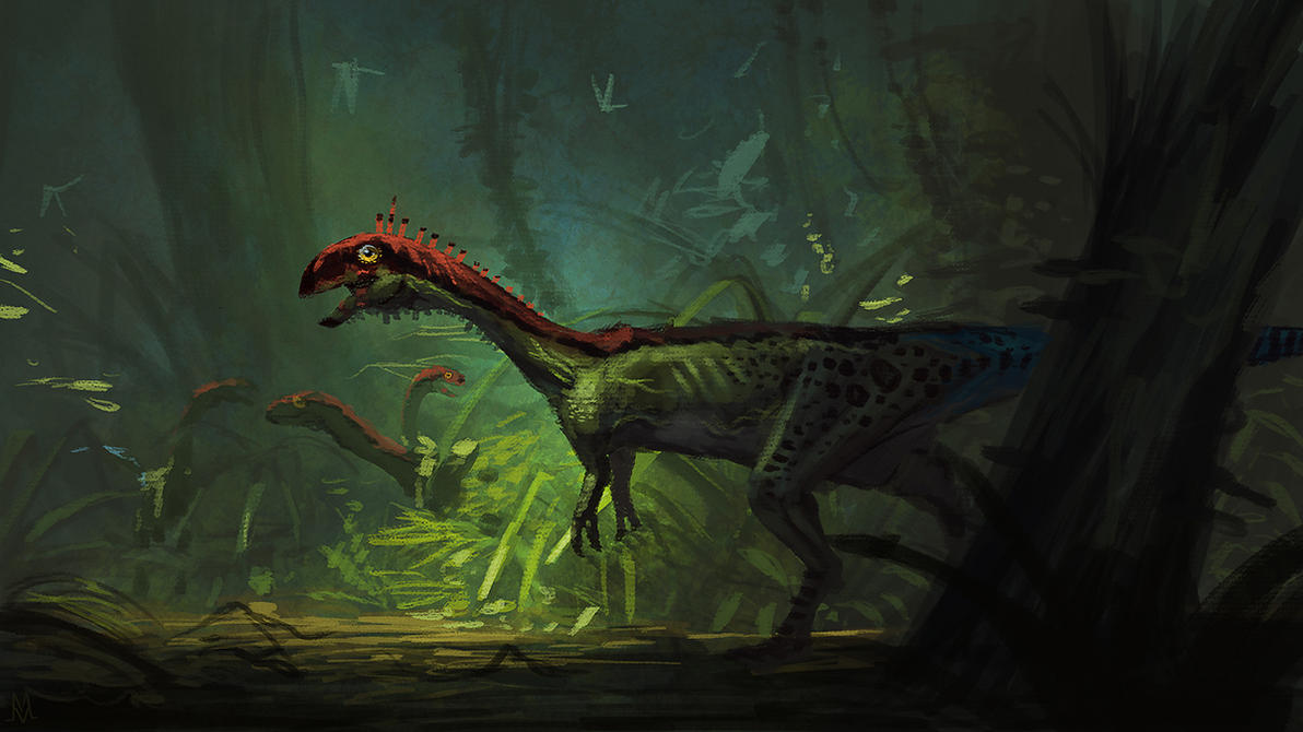 Chilesaurus diegosuarezi by highdarktemplar