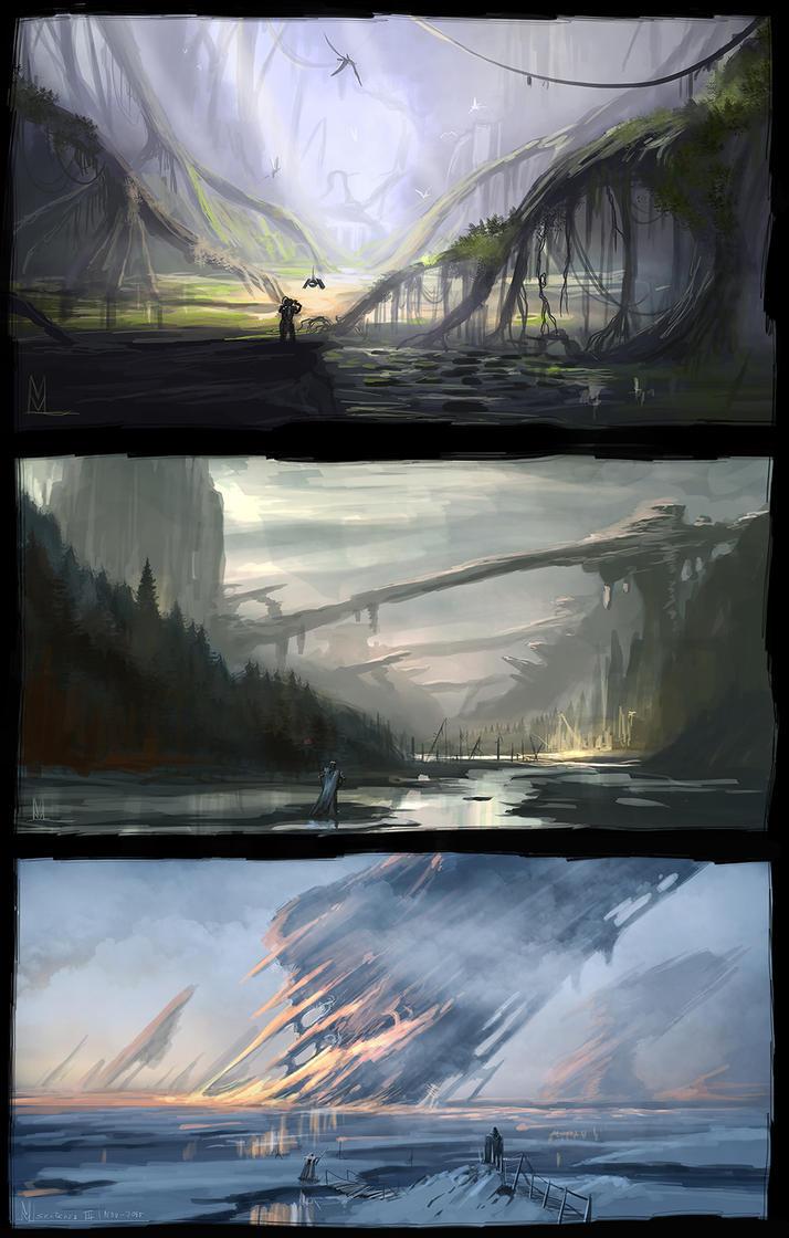 Sketches 3 by highdarktemplar