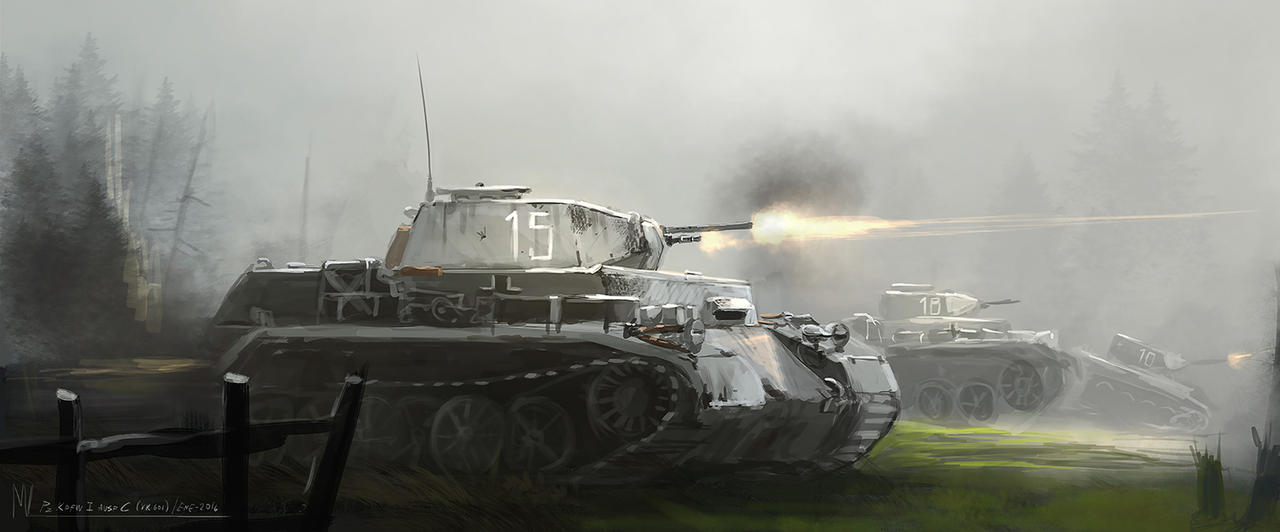 PZ Kpfw I Ausf C VK 601 by highdarktemplar