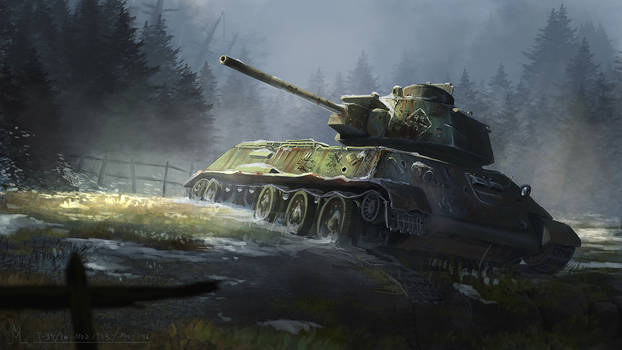 T-34/76 Mod 1943