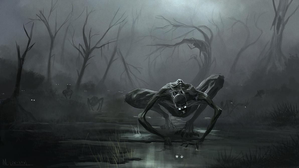 strange beings by highdarktemplar