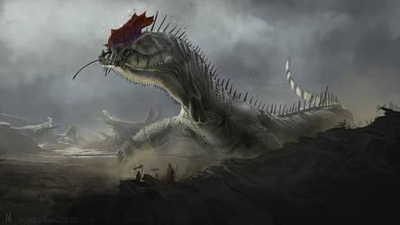 Dragon 2 by highdarktemplar