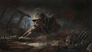Zombie 3 by highdarktemplar