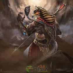 Ra Supremo by highdarktemplar
