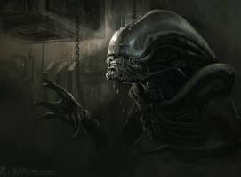 Alien day by highdarktemplar