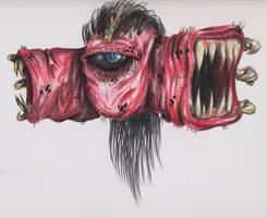 Pain Elemental by highdarktemplar