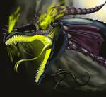 Maleficent by highdarktemplar