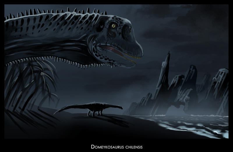 Domeykosaurus chilensis II by highdarktemplar