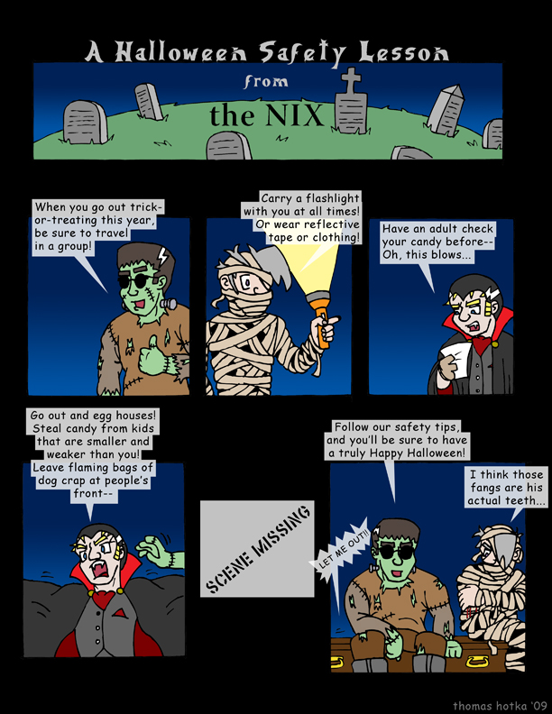 Halloween Safety with the NIX