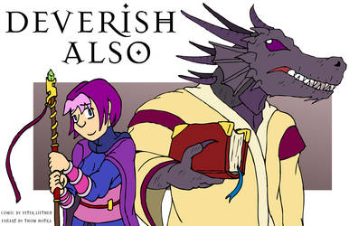 Deverish Also fanart by NyQuilDreamer