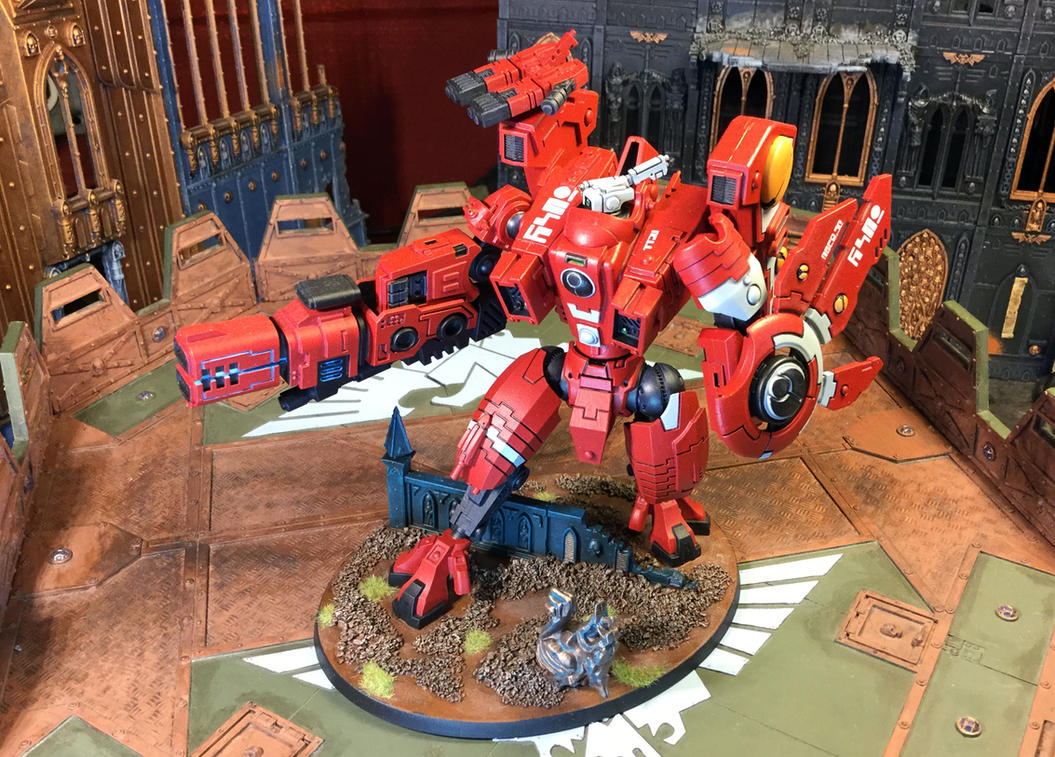 Riptide Battlesuit 01, Nemesis Contingent by NyQuilDreamer