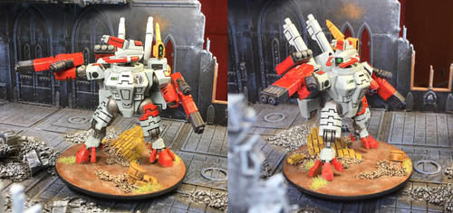 Tau Commander Edge, Nemesis Contingent by NyQuilDreamer