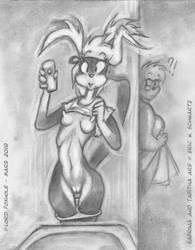 Tabitha's Nude Selfie. by Lord-Foxhole