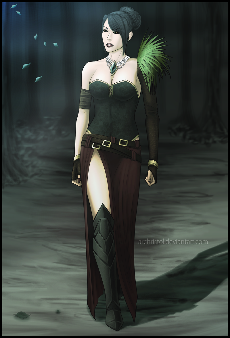 Selena Morgross Witchcraft Dragon Age The Dragon S