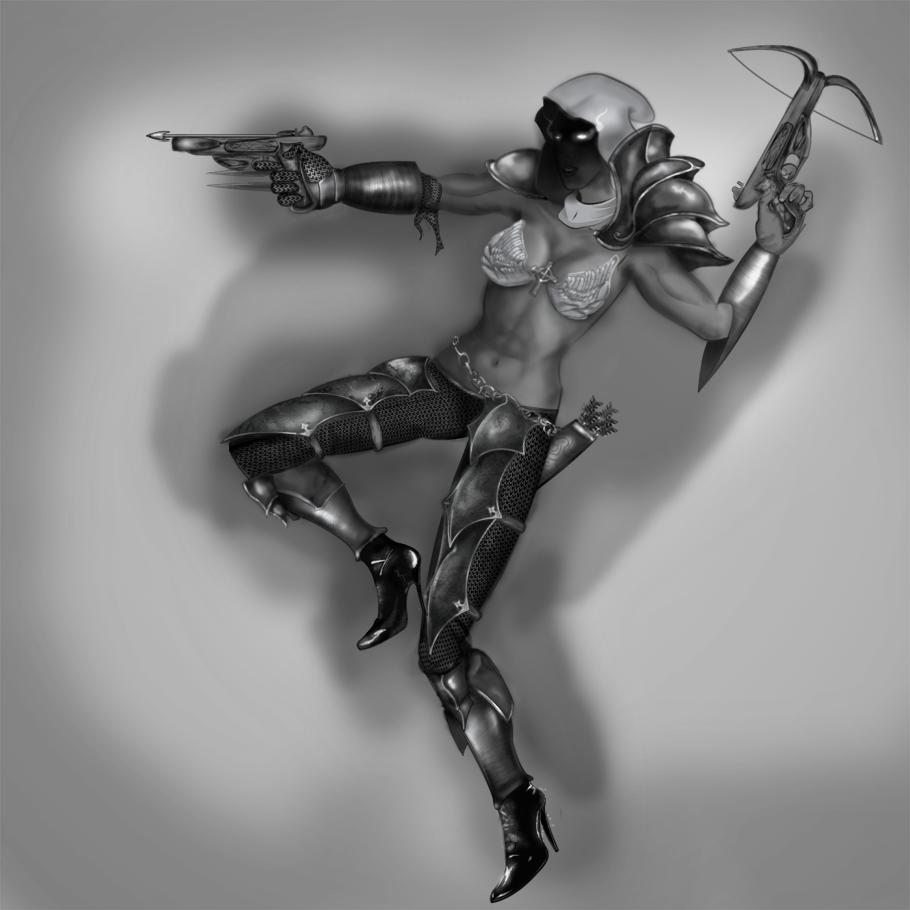 Demon Hunter 2 by HurrArch