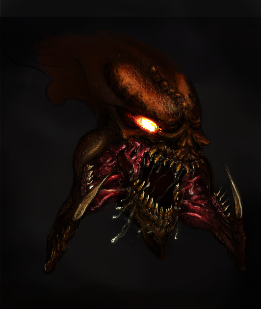 Hydralisk portrait by HurrArch