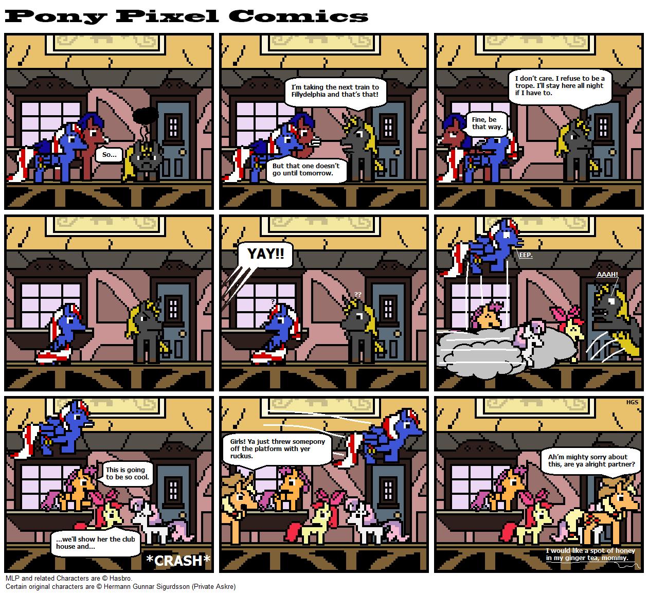 A Pony pixel comic #2 by Askre5