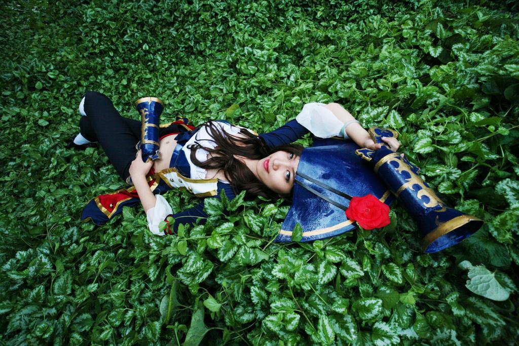 Miss Fortune Waterloo Skin cosplay