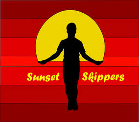 Sunset Skippers Logo by haleyeves77