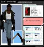 Death's Apprentices: Iris Evans